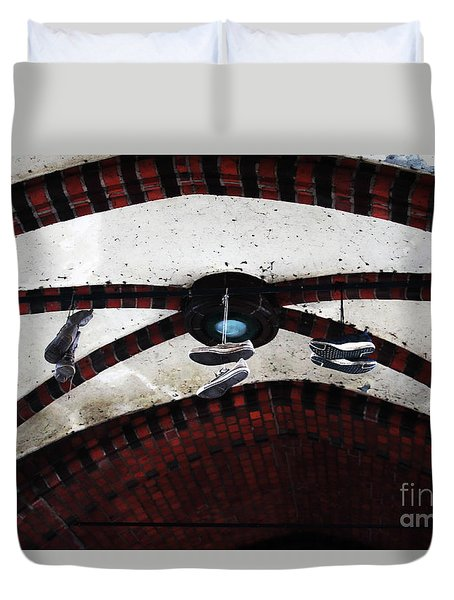 Walking On Air Duvet Cover