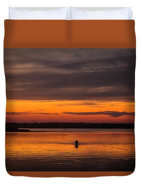 Walking On Sunshine Duvet Cover