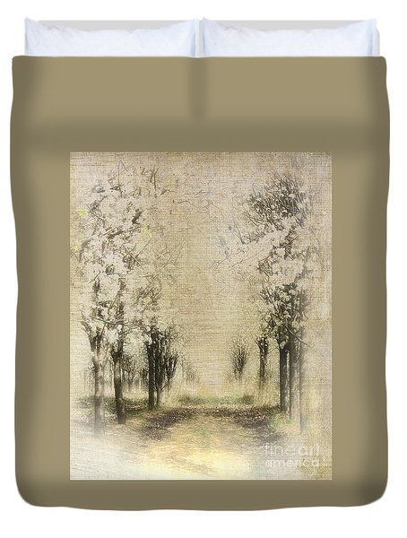 Walking Through A Dream IIi Duvet Cover by Dan Carmichael