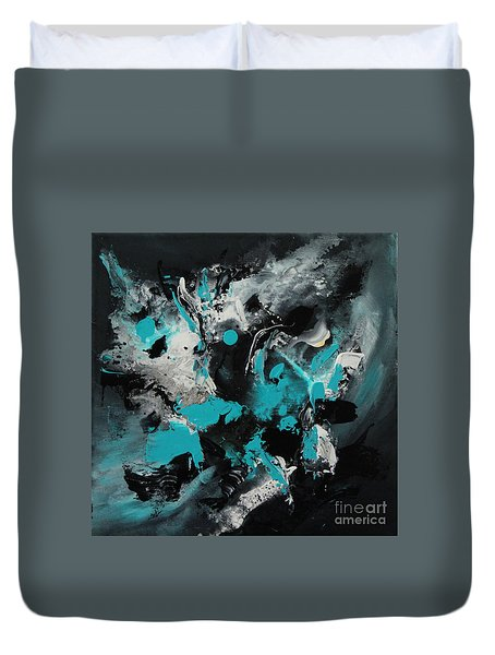 Walking Wave-1 Duvet Cover