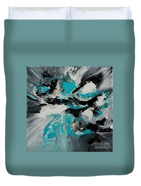 Walking Wave-3 Duvet Cover