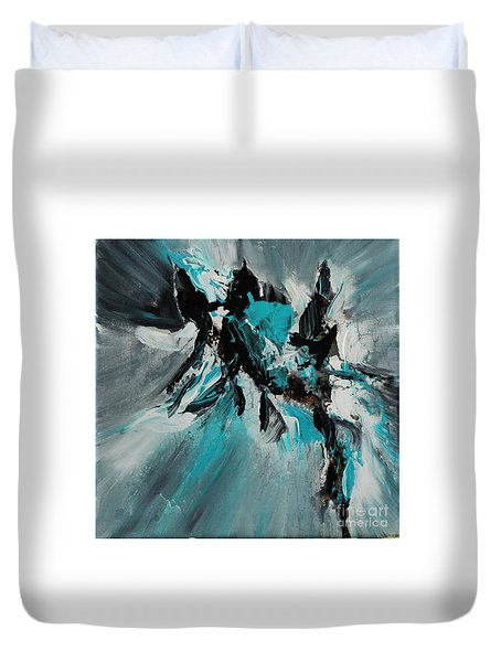 Walking Waves-2 Duvet Cover