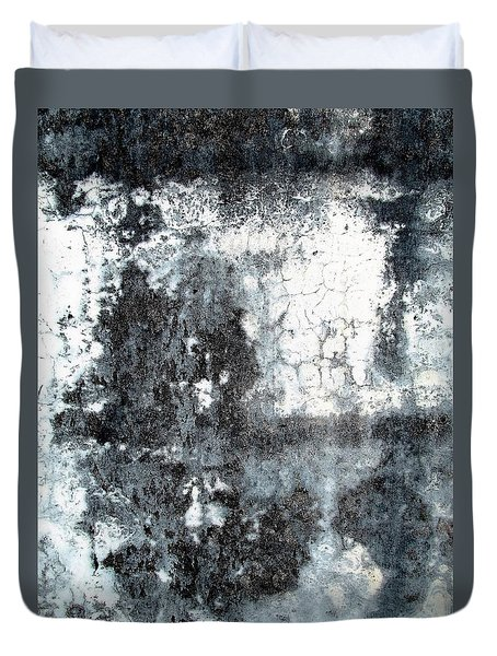 Wall Abstract 165 Duvet Cover