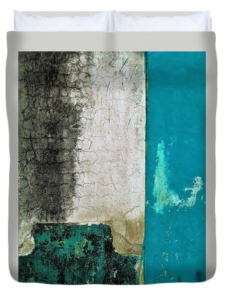 Wall Abstract 296 Duvet Cover