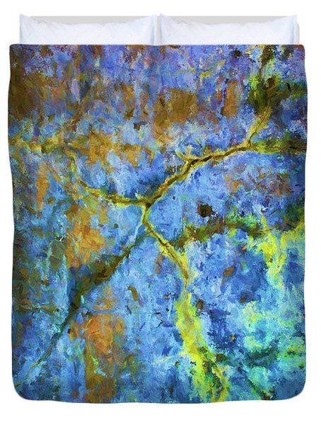 Wall Abstraction I Duvet Cover