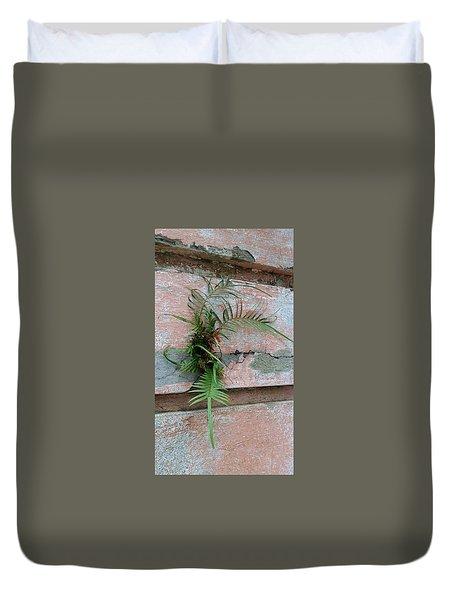 Wall Fern Duvet Cover