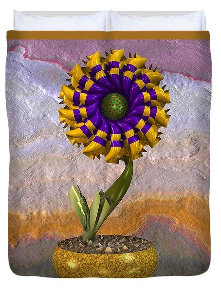 Wall Flower Duvet Cover