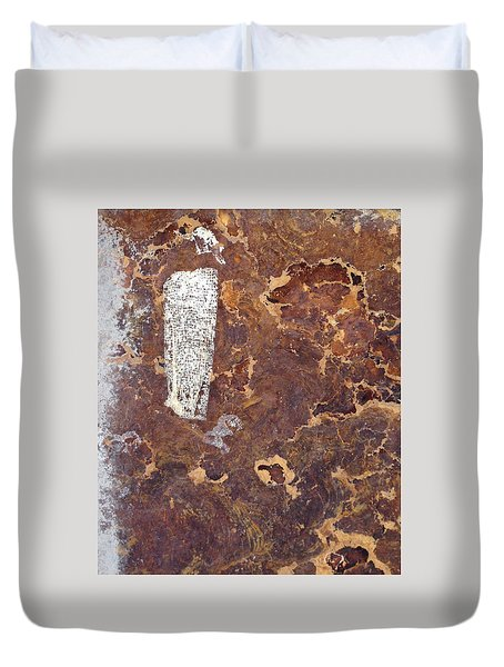 Wall In Puerto Rico Duvet Cover