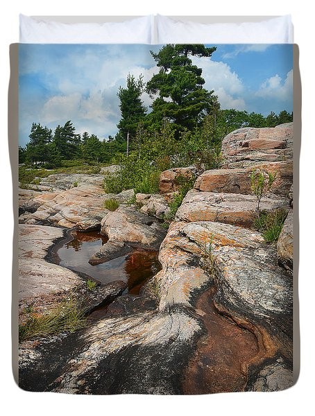 Wall Island Rock-3592 Duvet Cover