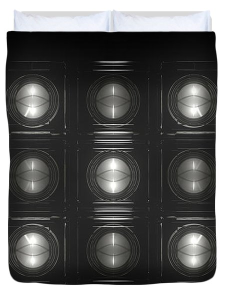 Wall Of Roundels - 5x3 Duvet Cover