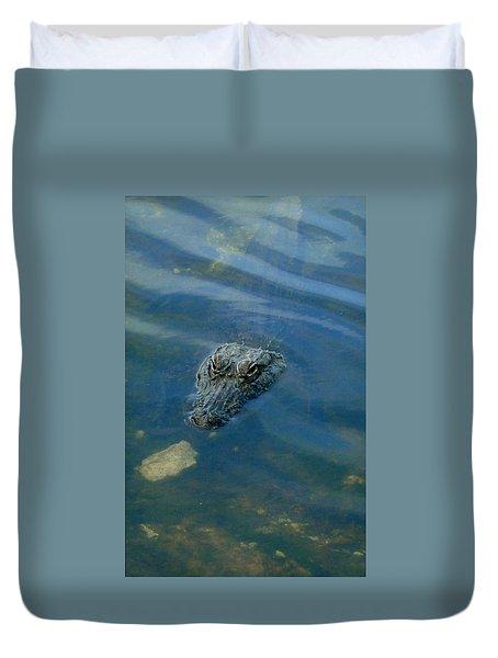 Wally The Gator Duvet Cover