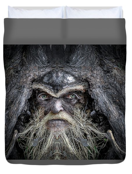 Wally Woodfury Duvet Cover