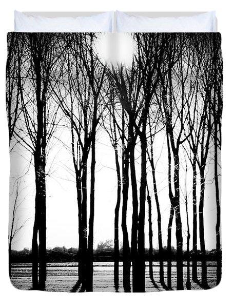 Walnut Grove Fall Evening Duvet Cover