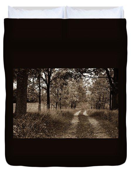 Walnut Lane Antiqued Duvet Cover