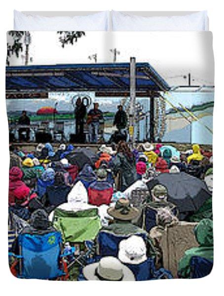Walnut Valley Festival Duvet Cover
