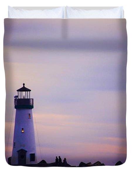 Walton Lighthouse Duvet Cover