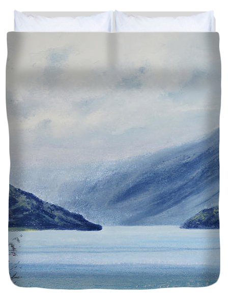 Wanaka Lake Duvet Cover