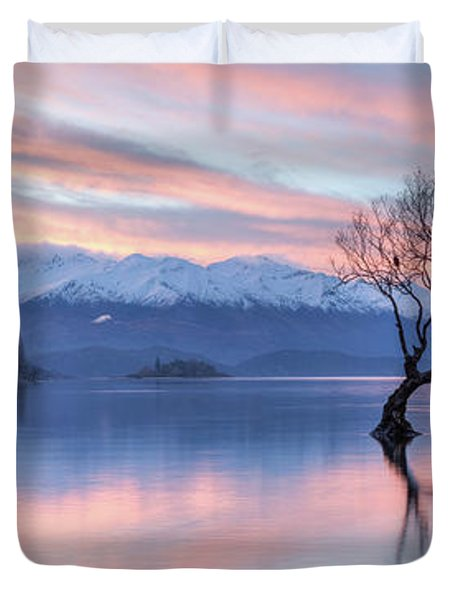 Wanaka Sunset Duvet Cover