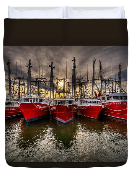 Wanchese Fish Company Duvet Cover