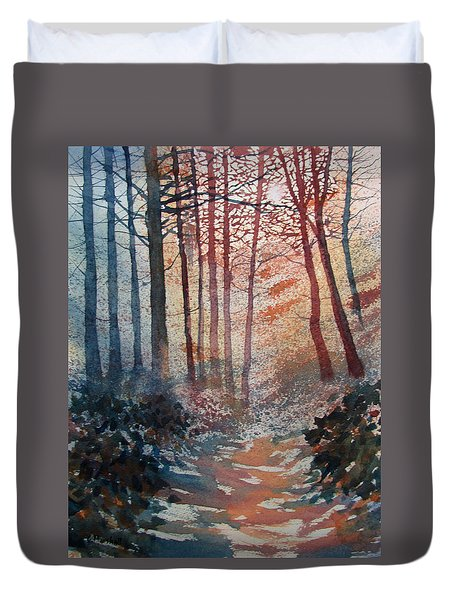 Wander In The Woods Duvet Cover