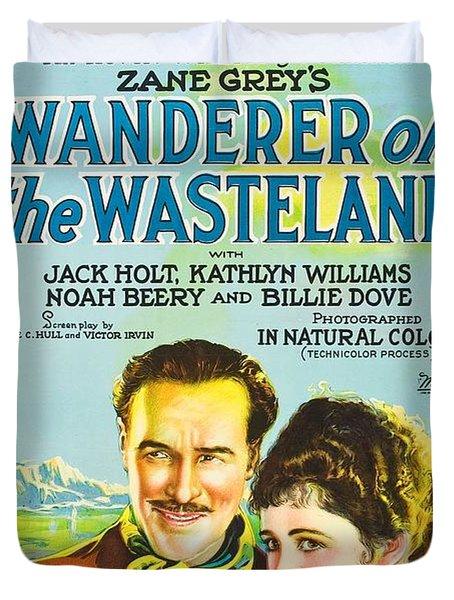 Wanderer Of The Wasteland 1924 Duvet Cover