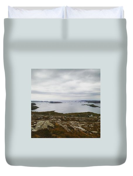 Scottish Coastline Duvet Cover
