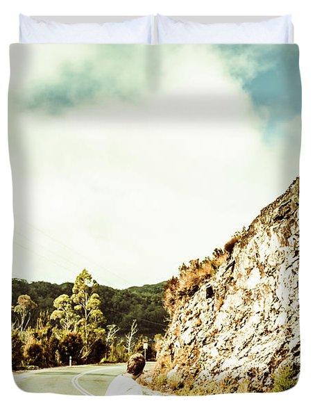 Wanderlust Southwest Tasmania Duvet Cover