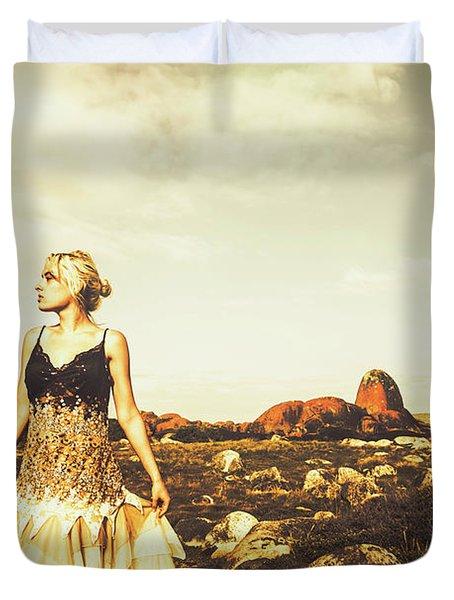Wanderlust Tasmania Duvet Cover