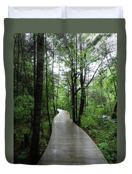 Wang Lang Nature Reserve, China Duvet Cover