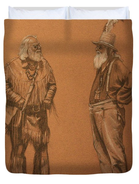 Wanna Buy A Hat? Duvet Cover