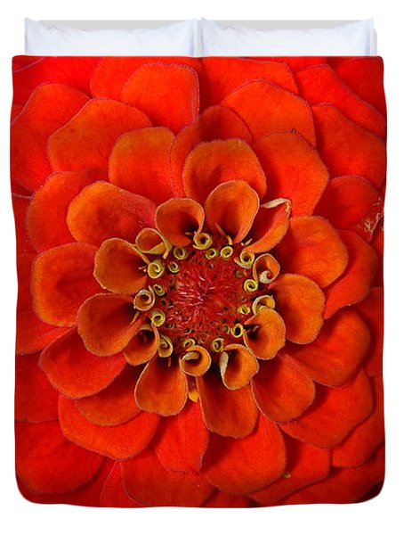 Want An Orange ? Duvet Cover