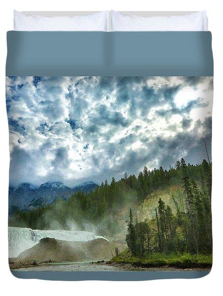 Wapta Falls 1 Duvet Cover