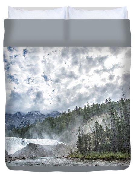 Wapta Falls 2 Duvet Cover