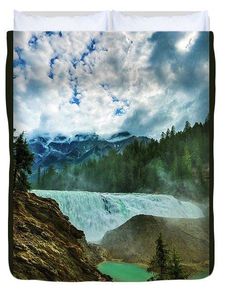 Wapta Falls 3 Duvet Cover