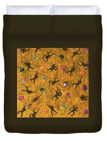War And Peace Duvet Cover