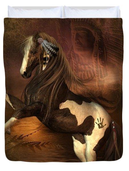 War Horse 2 Duvet Cover
