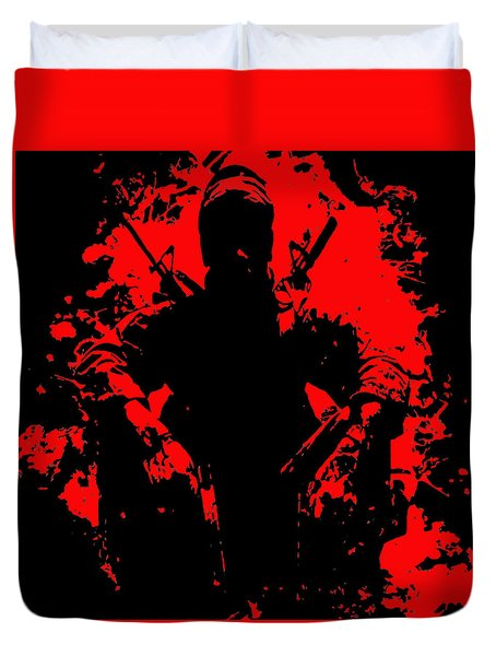 War Is Hell 2 Duvet Cover