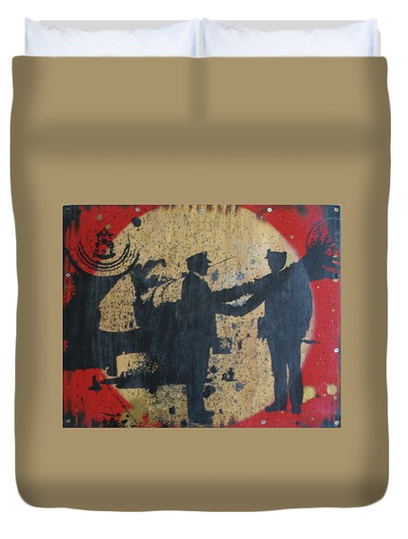 War Mongers Duvet Cover