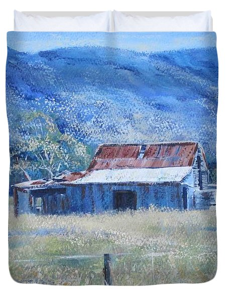 Warby Hut Duvet Cover