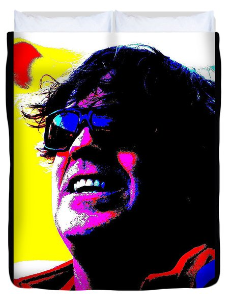 Warhol Robbie Duvet Cover by Jesse Ciazza