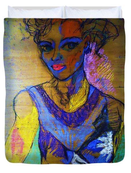 Warhol Simone Duvet Cover