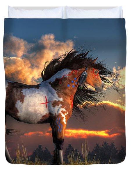 Warhorse Duvet Cover