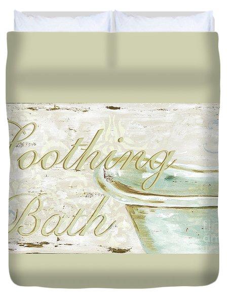 Warm Bath 1 Duvet Cover