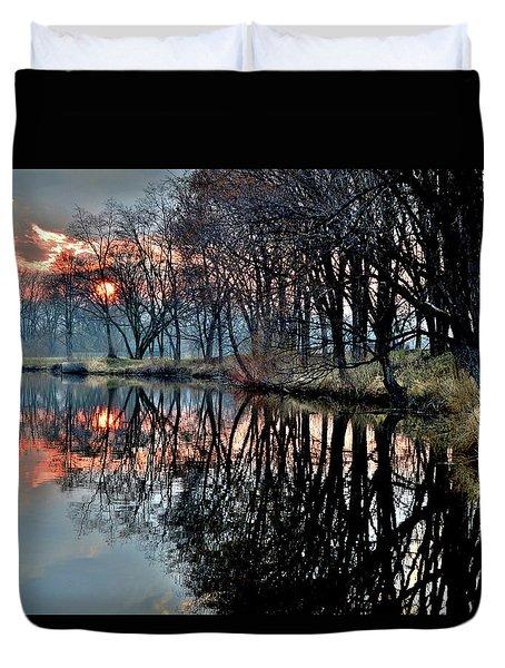 Warm Spring Evening Duvet Cover