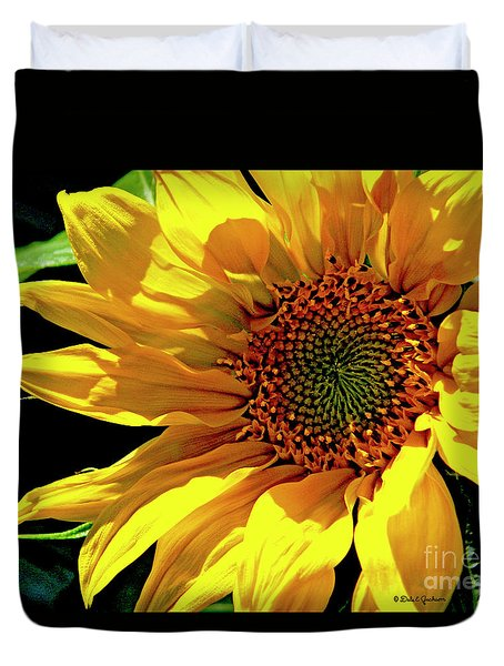 Warm Welcoming Sunflower Duvet Cover