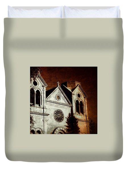 Warming Faith Duvet Cover