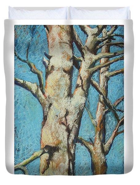 Warming Light Duvet Cover by Marlene Gremillion