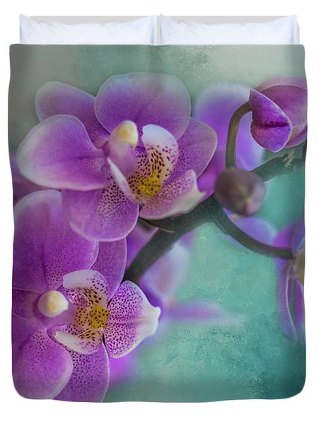 Duvet Cover featuring the photograph Warms The Heart by Marvin Spates