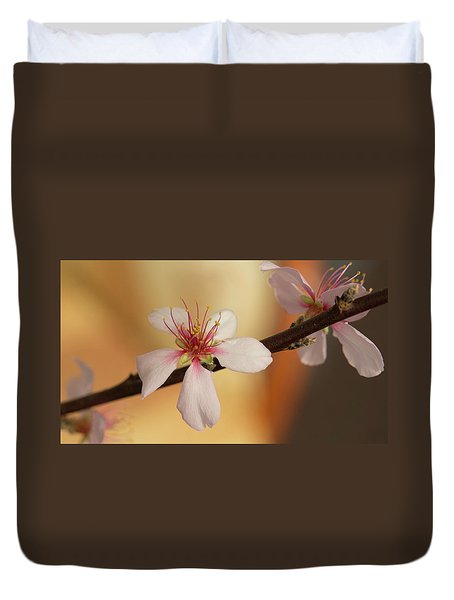 Warmth Of Hope. Duvet Cover