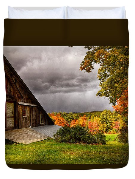 Warner Farm Il Duvet Cover by Tricia Marchlik